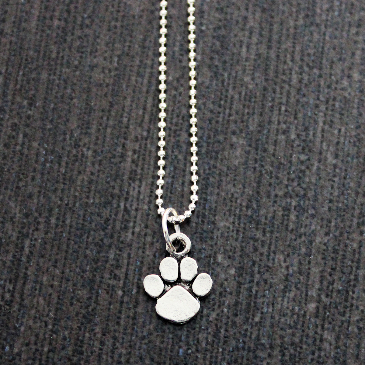 pawprint ray print necklace paw product marly