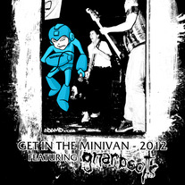 """Get in the Minivan"" tour poster"