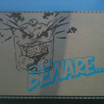 Custom Beware Gocco Print medium photo