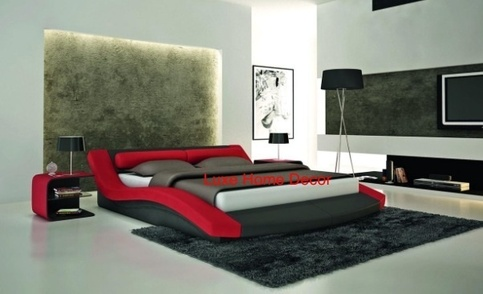 Capsule Modern Bed - V (King) · Luxe Home Decor & Furnishings ...