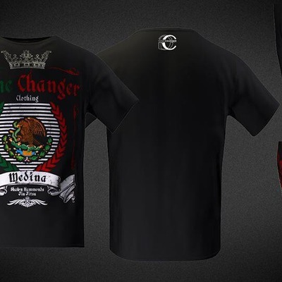 Jorge medina signature walkout shirt.