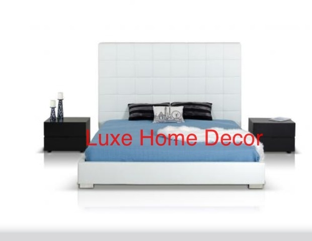 Mateo Low Profile Bed King Luxe Home Decor