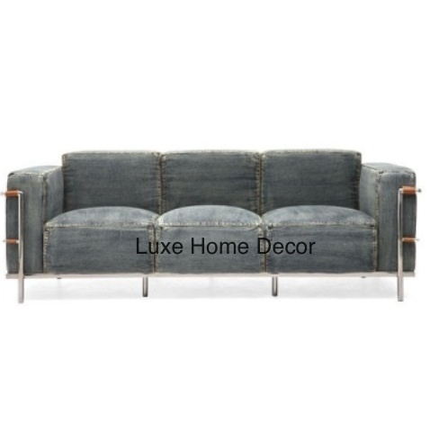 Denim Sofa Luxe Home Decor Furnishings Online Store Powered By Storenvy