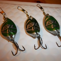 Budlight Lime Fishing Lures (3)