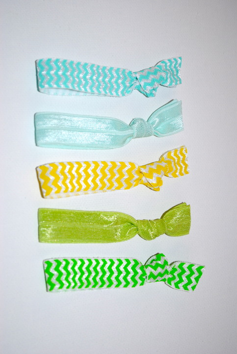 The Jadie Set- 5 No-Crease Hair Ties