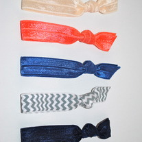 The Taylor Set- 5 No-Crease Hair Ties