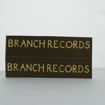 Branch Records Logo Sticker