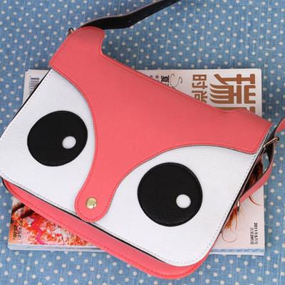 {4 colors} cute owl bag