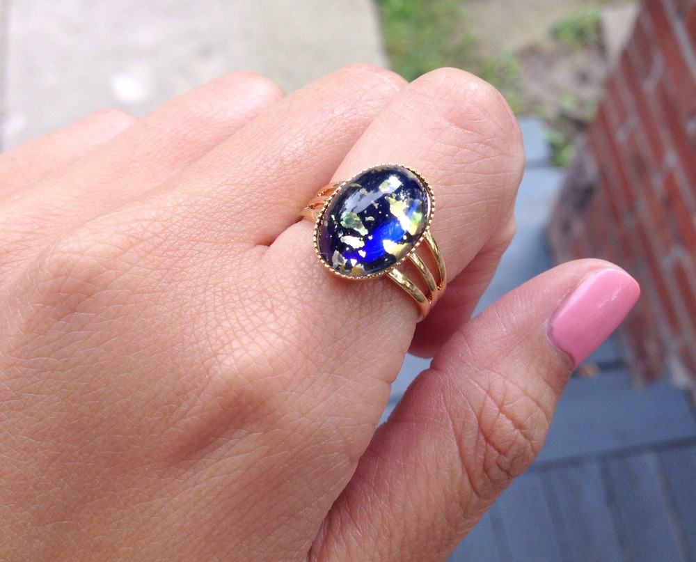 Blue Fire Opal Ring · emily thai jewelry · Online Store Powered by ...