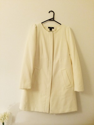 H&M WHITE COAT · ADOPT-A-CLOTH · Online Store Powered by Storenvy