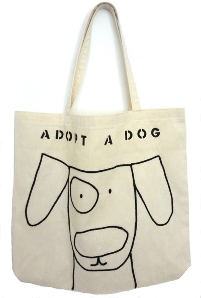 Tote Bag - Adopt A Dog
