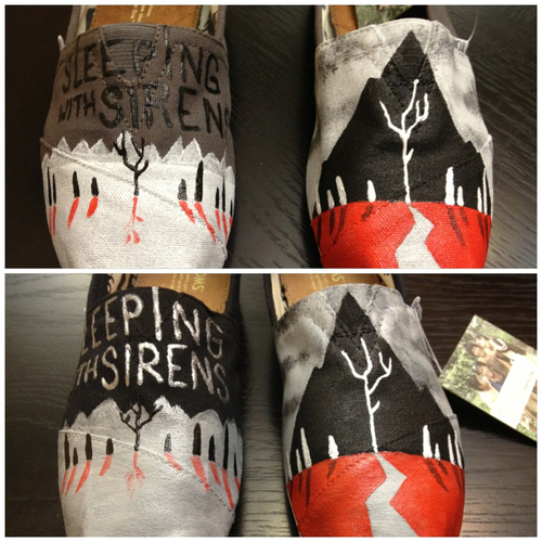 Sleeping With Sirens TOMS - With Ears To See And Eyes To ...