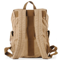 Rugged canvas travel rucksacks | Cool daypack mens - Thumbnail 2
