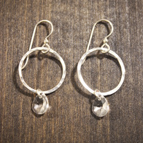 Mary Jane Hoops - Small