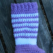 Infant leg warmer booties