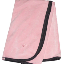 Coccoli Velour Blanket- Pink