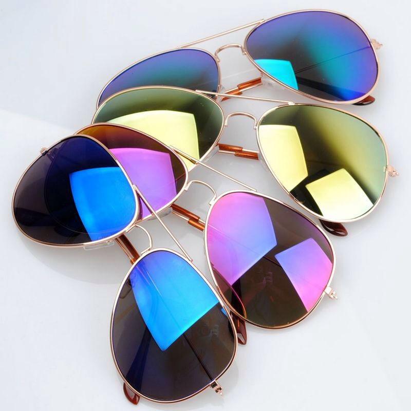 P S I Love You More Boutique Mirrored Aviator Sunglasses