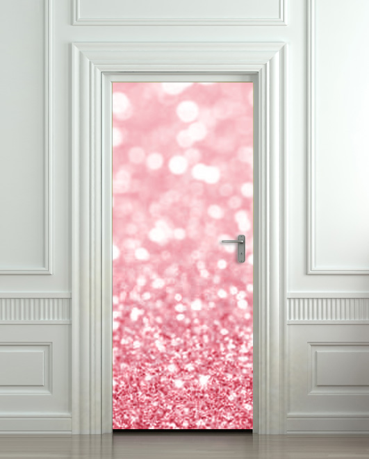 Glitter_original & Door Wall STICKER poster bling glitter rose decole film 30x79 ... Pezcame.Com