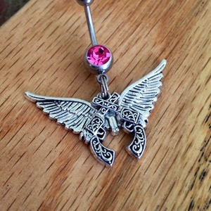 Miranda Lambert Ink Belly Ring