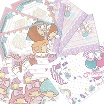 12 Little Twin Stars Memo Sheets