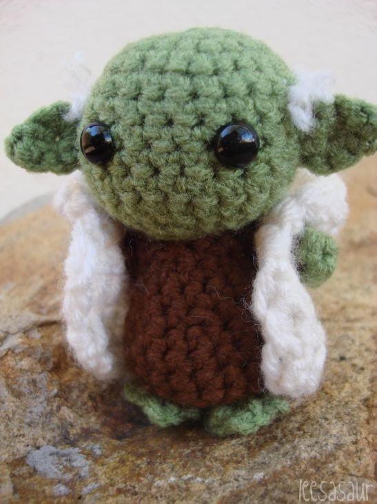 Amigurumi Yoda Patron : LEESASAUR Little Yoda Amigurumi Online Store Powered ...