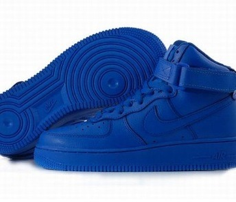 blue nike air force ones