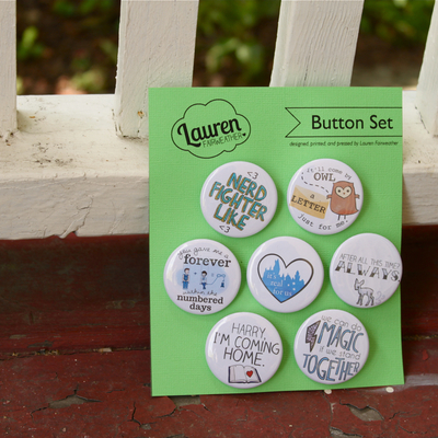 Button set by lauren fairweather