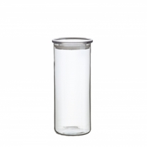 Simax Medium Cylinder Storage Container w/Plastic Lid 5 Cups