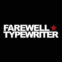 Farewell Typewriter star logo men's T-shirt