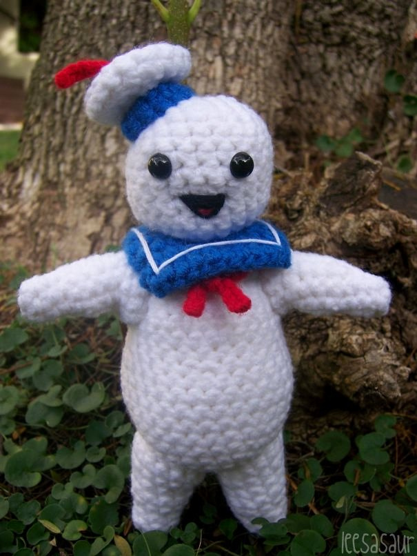 LEESASAUR Stay Puft Amigurumi Online Store Powered by ...