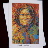 Geronimo Print Greeting Card medium photo