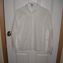 Old Navy White Dress Shirt XL