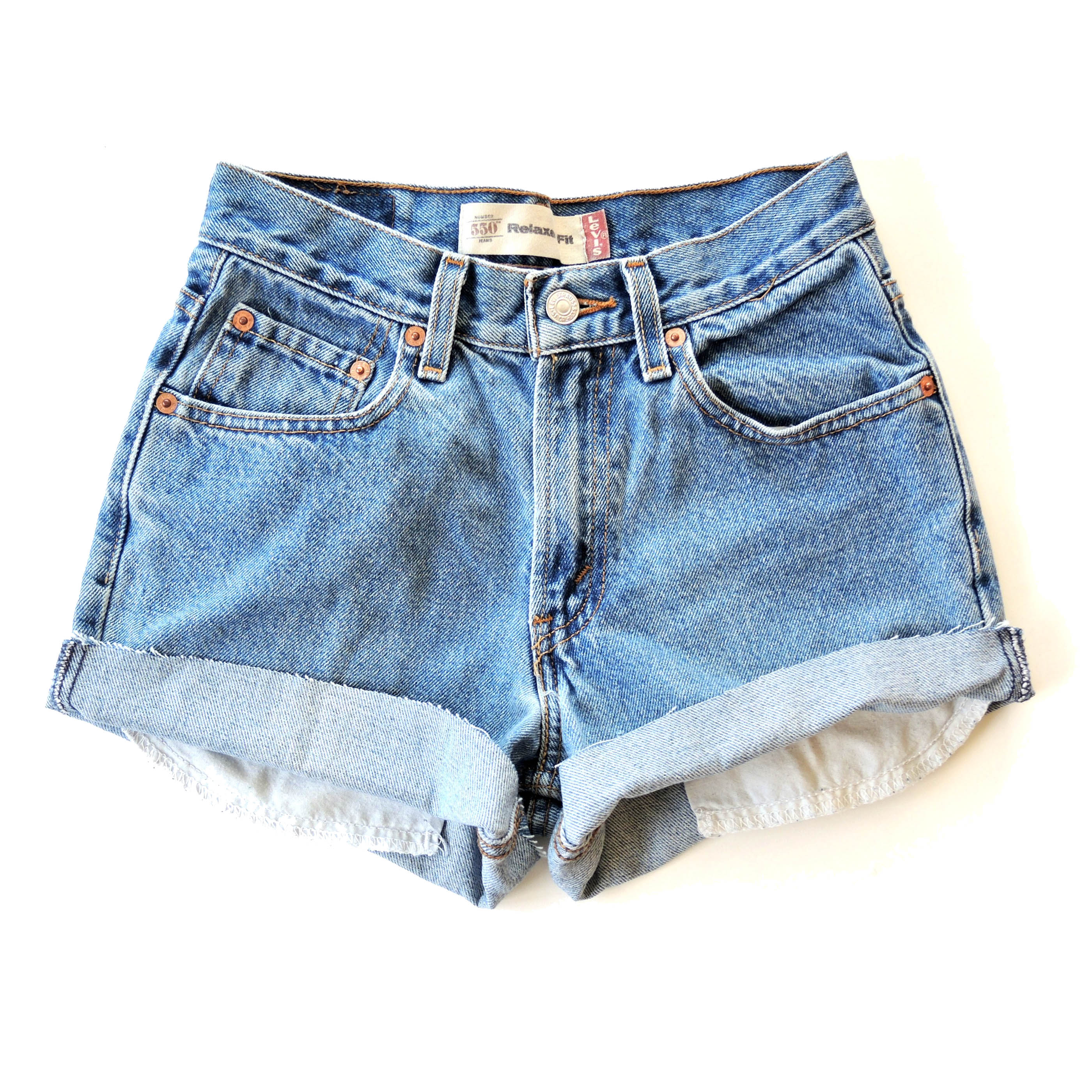 High Rise Shorts Cheap