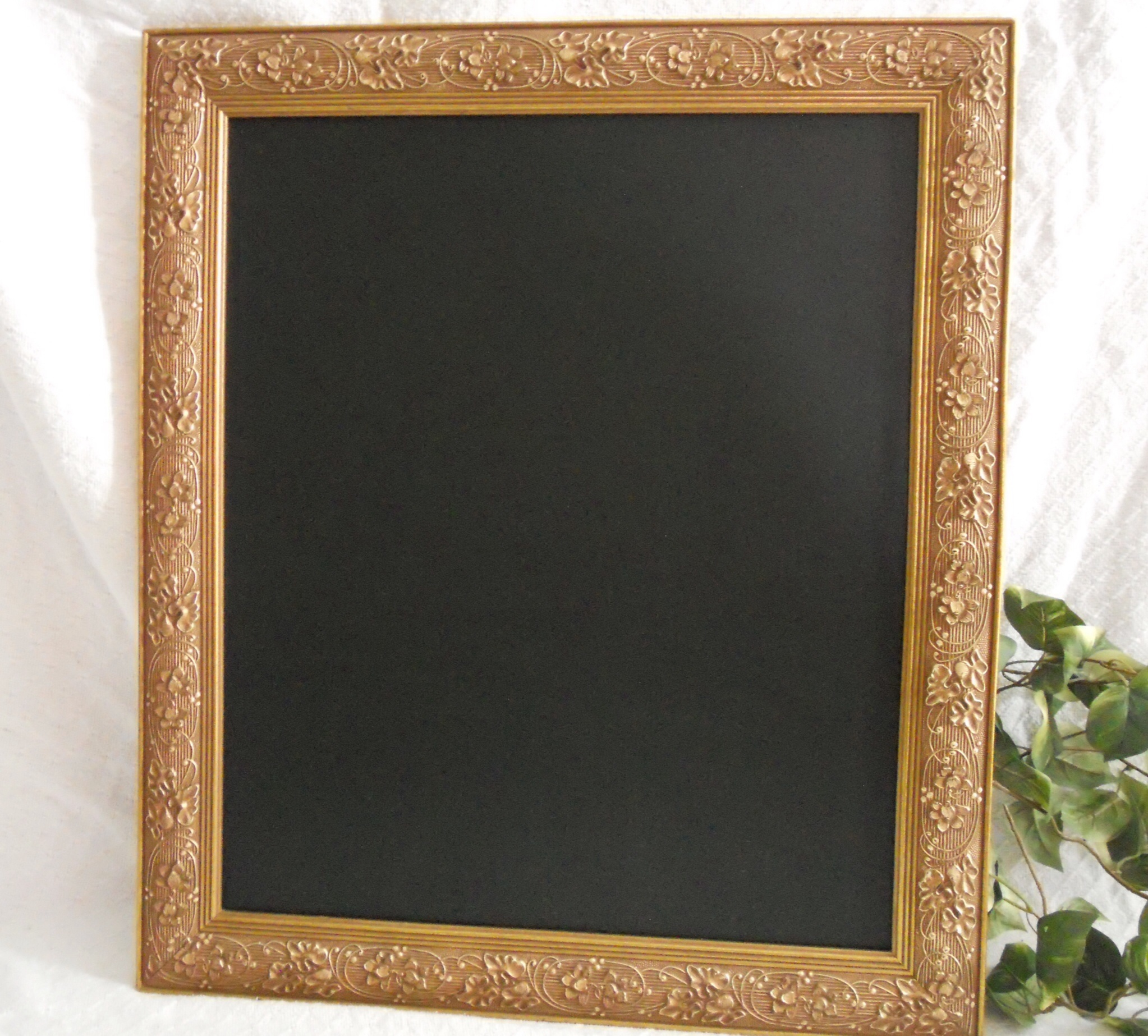 Ornate Large gold Framed Chalkboard perfect for your wedding or ...