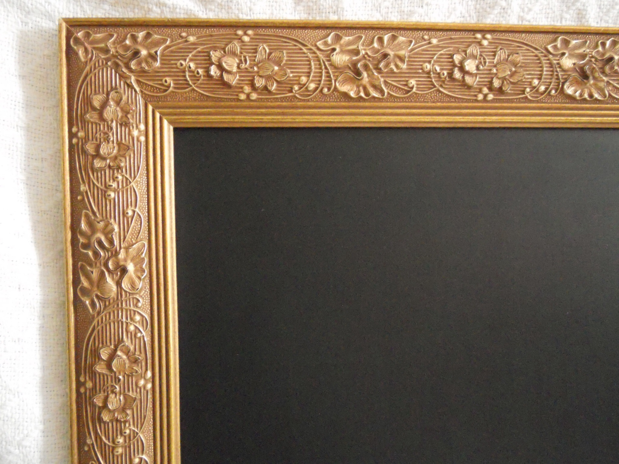 thumbnail ornate large gold framed chalkboard perfect for your wedding or kitchen menu board thumbnail