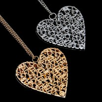 Heart Love Letter Necklace