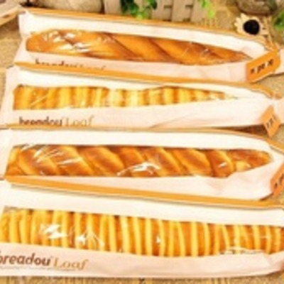 Authentic breadou loaf with original packaging