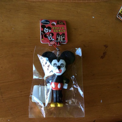 Rare mickey cubic squishy