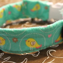 Spring Bird Collar -Medium