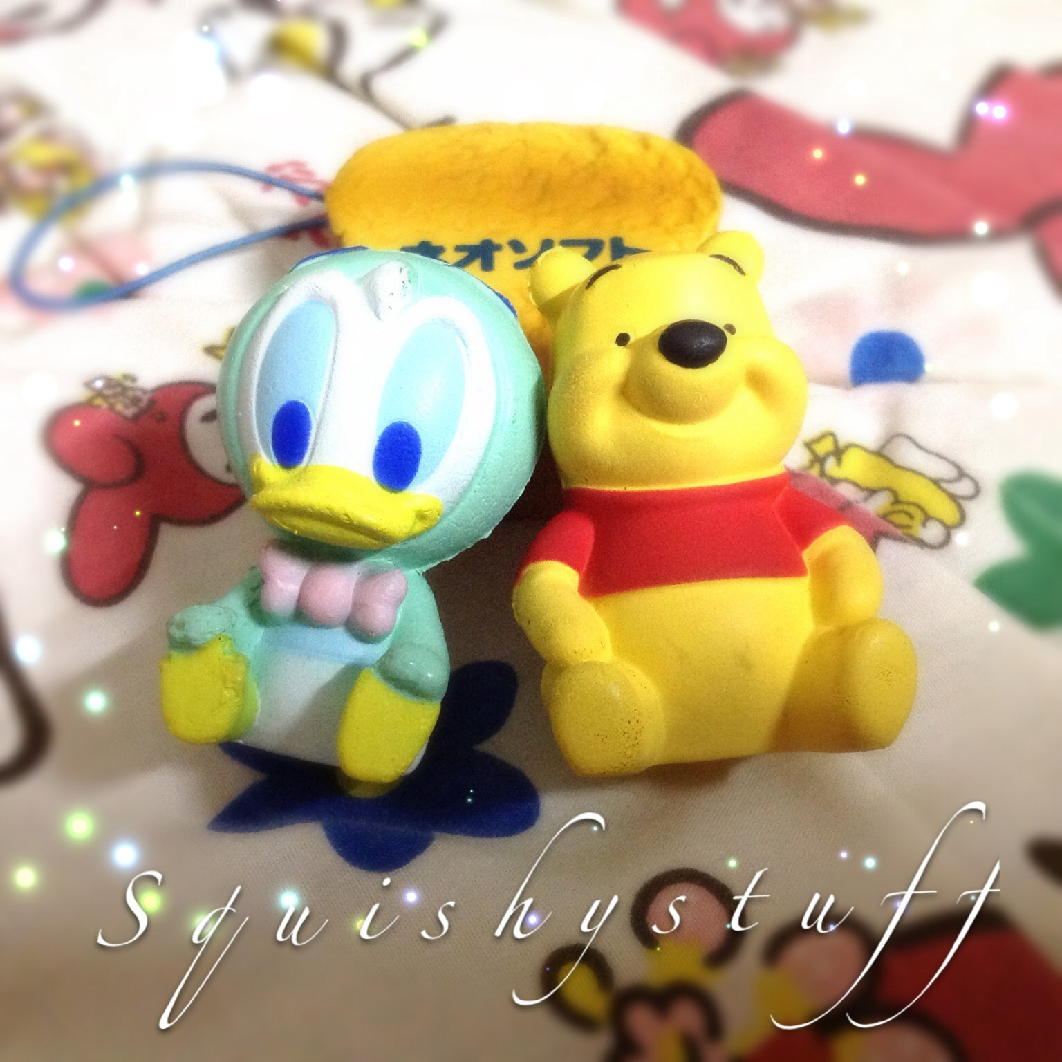 Squishy World : ~SquishyStuff~ Licensed Disney Pooh & Donald a Squishy Magnet Online Store Powered by Storenvy