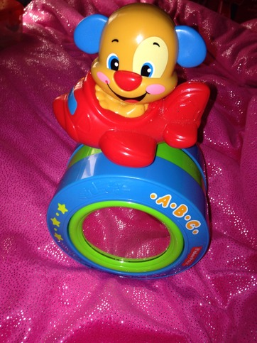 Fisher Price Laugh Amp Learn Dog Crawl Along Ball Airplane