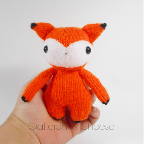 Amigurumi Wool : Amigurumi Knit Fox ? Crafteroni & Cheese ? Online Store ...