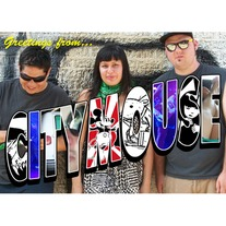 "City Mouse Postcard flexi 7"" w/ Jerk Store zine #11"