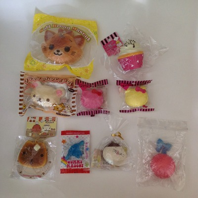 Squishy Rare Collection : Gummy mascot & Super rare squishy grabbag ? SuzyCupcake ? Online Store Powered by Storenvy