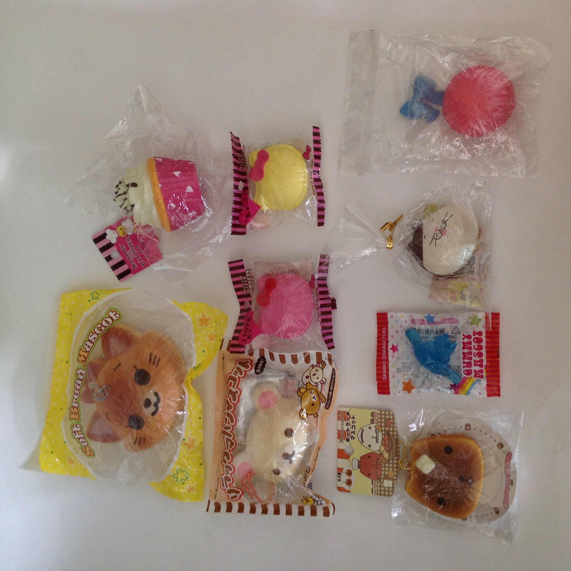 Huge Rare Squishy Collection : Gummy mascot & Super rare squishy grabbag ? SuzyCupcake ? Online Store Powered by Storenvy