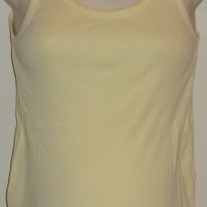 Yellow Ribbed Tank Top-Old Navy Maternity Size Small  CLTE2