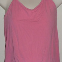 Pink Halter Top-Old Navy Maternity Size Small  CLTE2