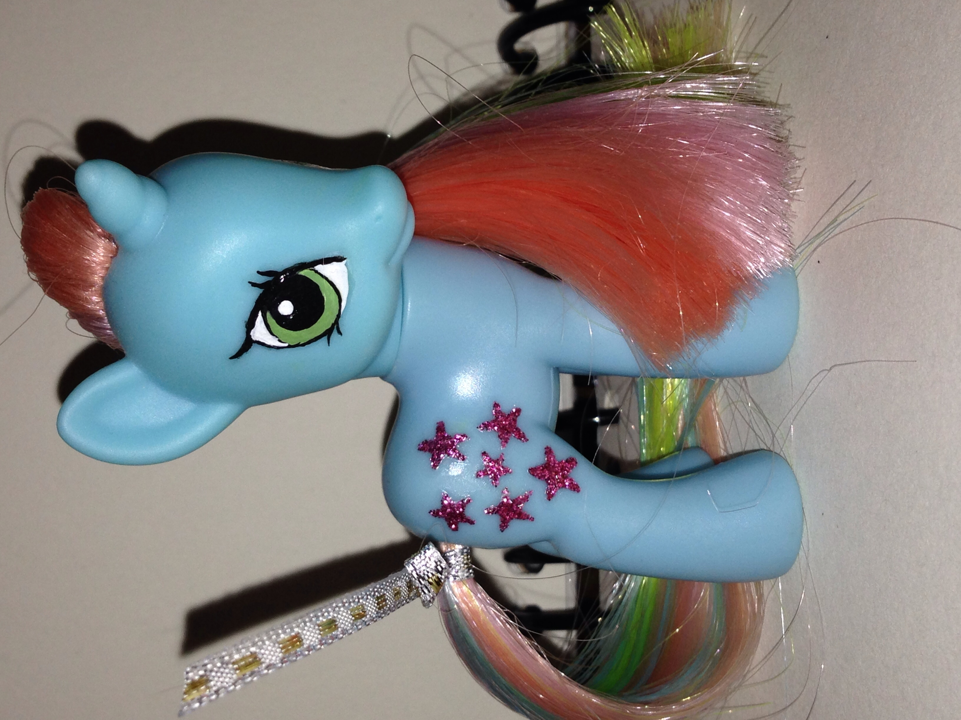 custom my little pony g1 to g4 rainbow starflower ice gypsy atelier online store powered by. Black Bedroom Furniture Sets. Home Design Ideas