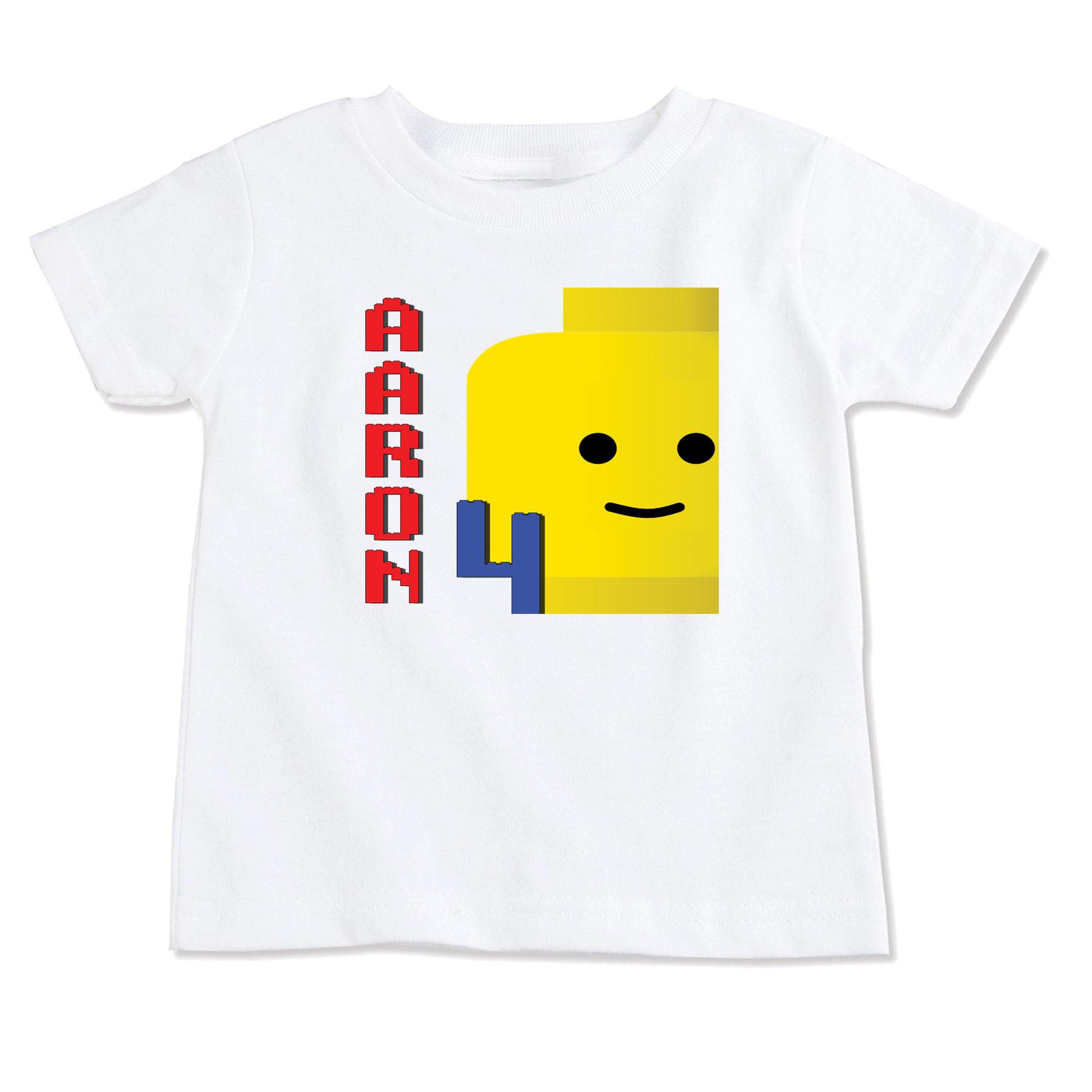 Lego T Shirtbirthday T Shirtparty T Shirtpersonalized T Shirt