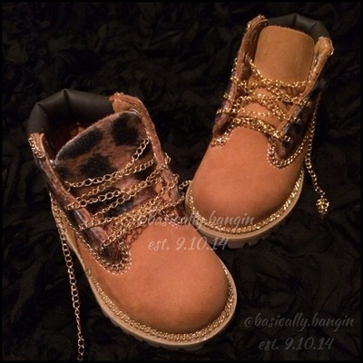 The chain reaction timberland [toddlers sizes 4- 12]